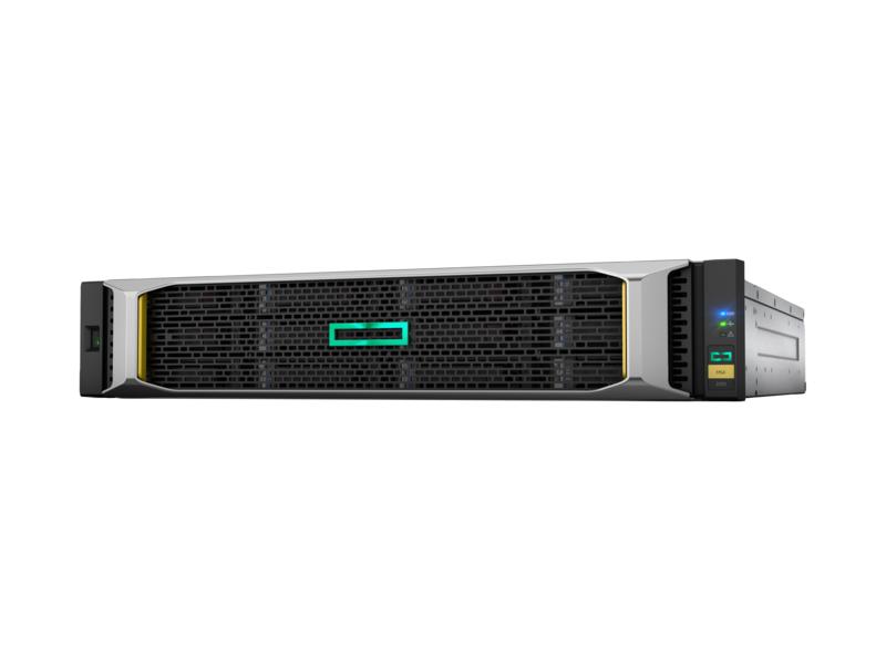 Hewlett Packard Enterprise MSA 1050 Rack (2U) Black disk array