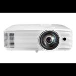 Optoma W319ST beamer/projector Desktopprojector 4000 ANSI lumens DLP WXGA (1280x768) 3D Wit
