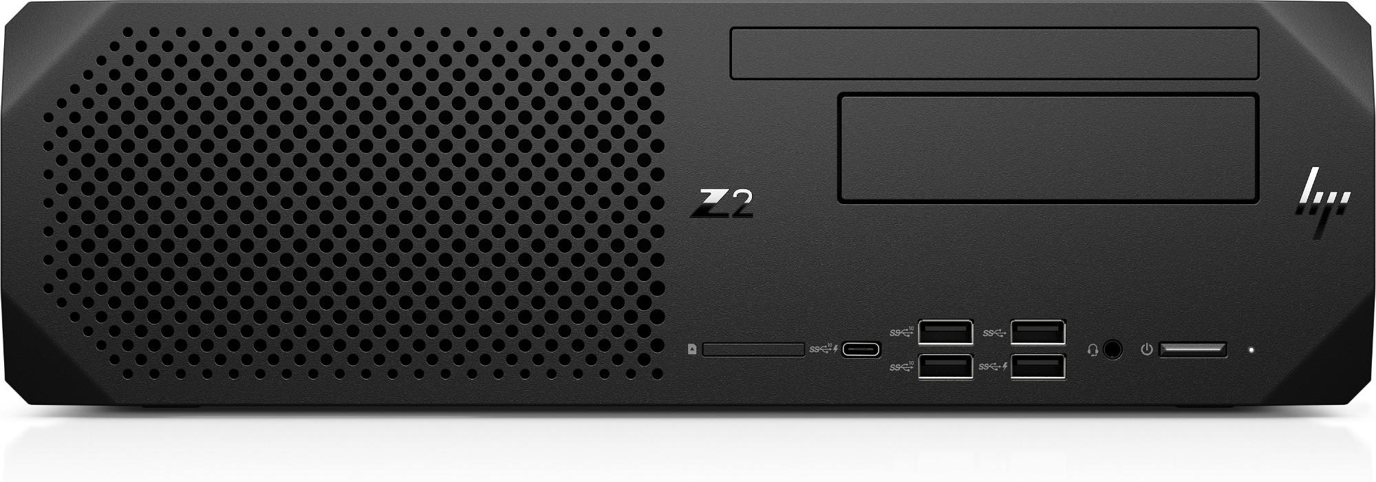 HP Z2 SFF G5 DDR4-SDRAM i7-10700 10th gen Intel® Core™ i7 8 GB 512 GB SSD Windows 10 Pro for Workstations Workstation Black