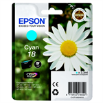 Epson C13T18024010 (18) Ink cartridge cyan, 180 pages, 3ml