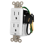 Furman MIW-SURGE-1G surge protector 2 AC outlet(s) 120 V White