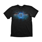 STARCRAFT II Men's Logo T-Shirt, Small, Black (GE1364S)