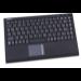 KeySonic ACK-540BT USB QWERTZ Black keyboard