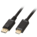 Lindy 36921 cable interface/gender adapter Diplayport HDMI Black