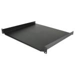 "StarTech.com 1U Fixed Server Rack Mount Shelf - 16in Deep Steel Universal Cantilever Tray for 19"" AV/Network Equipment Rack - 44lbs"