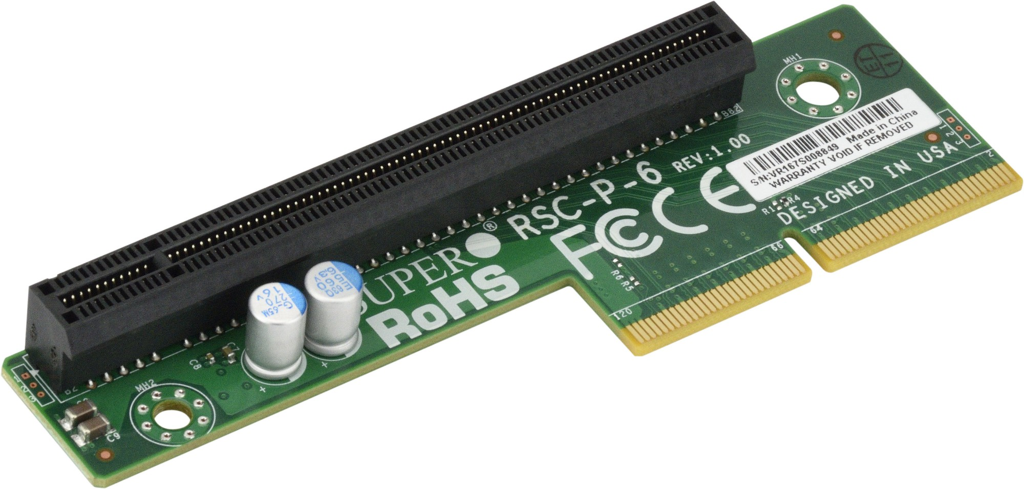 Supermicro RSC-P-6 interface cards/adapter PCIe Internal