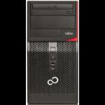 Fujitsu ESPRIMO P556/2/E85+ 3GHz i5-7400 Micro Tower Black PC