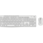 Logitech MK295 Silent Wireless Combo Tastatur RF Wireless QWERTY Nordischer Raum Weiß