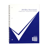 NUCO Value A4 Wiro Laminated Notebook PK5