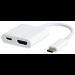 eSTUFF USB-C HDMI Charging Adapter USB 3.2 Gen 1 (3.1 Gen 1) Type-C 5000 Mbit/s White