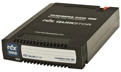 Tandberg Data RDX Cartridge 500 GB Tape Cartridge