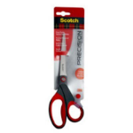 Scotch 1448 stationery/craft scissors Straight cut Black, Red, Stainless steel Universal