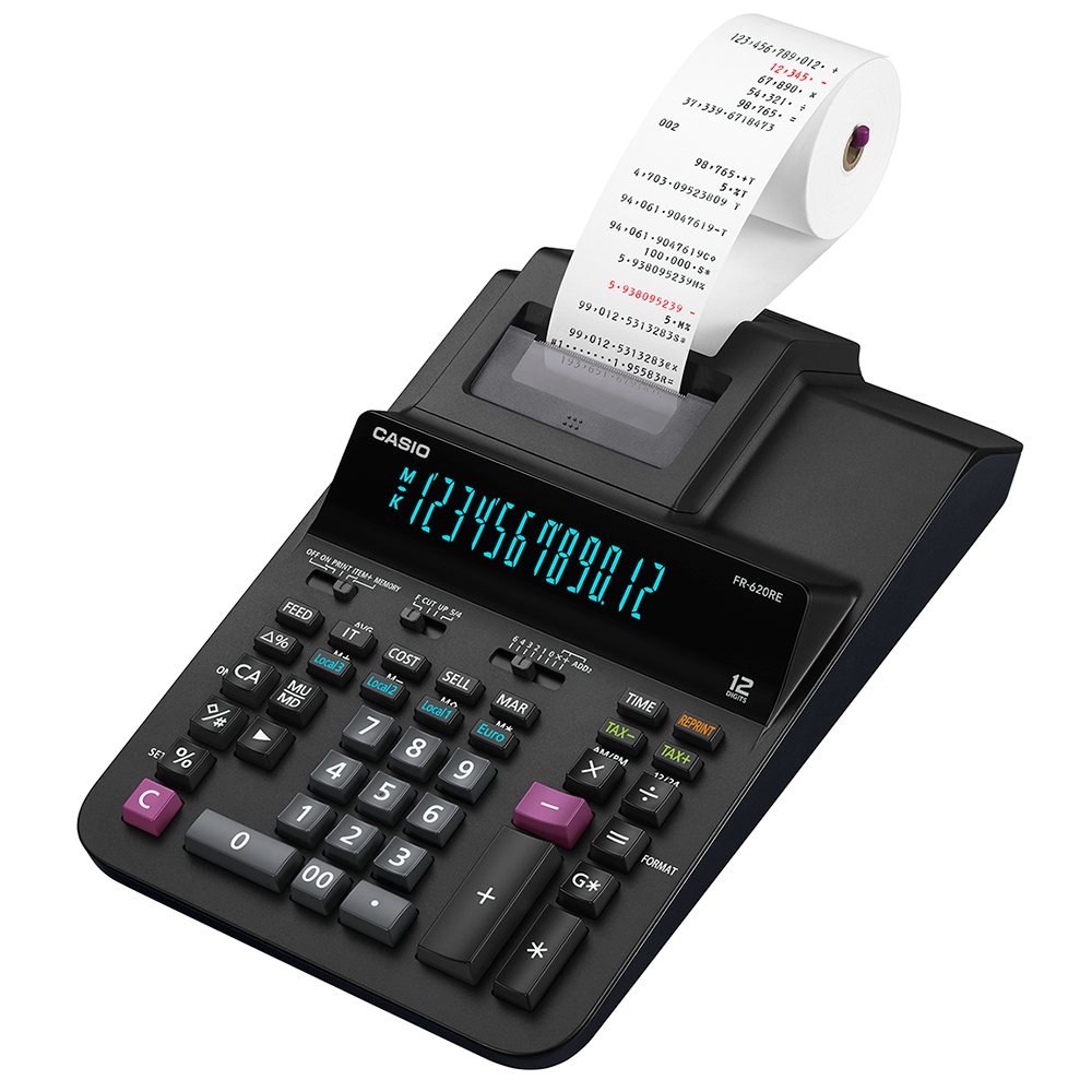 Printing Calculator Black (fr-620re-b-uc)