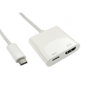 Cables Direct USB3C-HDMICAB-WPD USB Type C HDMI White