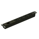APC EPDU1016B unidad de distribución de energía (PDU) 1U Negro 8 salidas AC