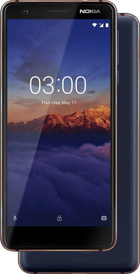 """Nokia 3.1 5.2"""" 4G 2GB 16GB 2990mAh Blue, Copper 11ES2L01A21"""