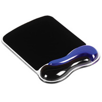 Kensington Duo Gel Mouse Pad Wrist Rest — Blue