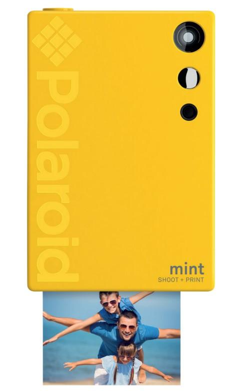 Polaroid Mint 50 x 76 mm Yellow