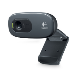 Logitech C270 1280 x 720pixels USB 2.0 Black webcam
