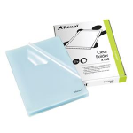 Rexel Cut Flush Folders A4 Clear (100)