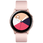 "Samsung Galaxy Watch Active smartwatch Rose gold SAMOLED 2.79 cm (1.1"") GPS (satellite)"
