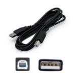 """AddOn Networks USBEXTAB10 USB cable 120.1"""" (3.05 m) 2.0 USB A USB B Black"""