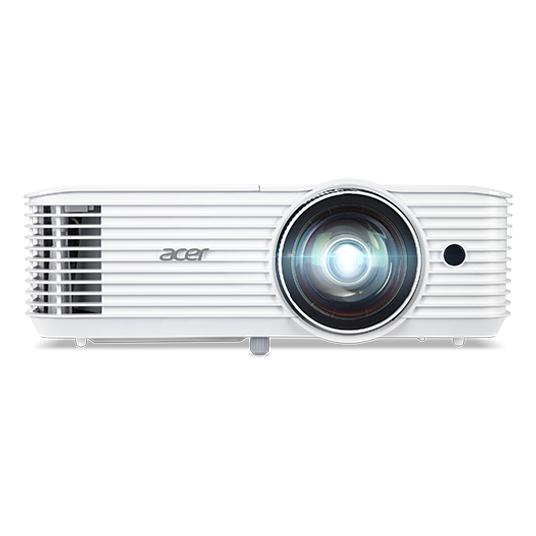 Acer S1386WH videoproyector 3600 lúmenes ANSI DLP WXGA (1280x800) Proyector instalado en el techo Blanco