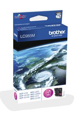 Brother LC985M Original magenta 1 pieza(s)