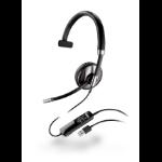 POLY 87505-01 headphones/headset Head-band Black
