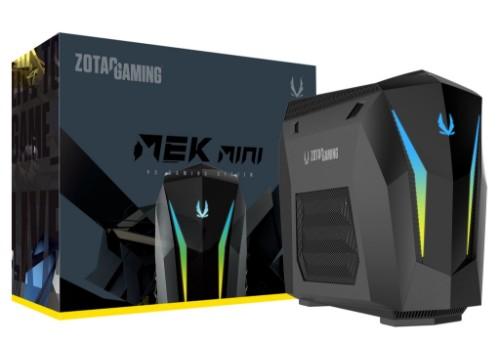Zotac MEK MINI 9th gen Intel® Core™ i7 i7-9700 16 GB DDR4-SDRAM 2240 GB HDD+SSD Black Midi Tower PC