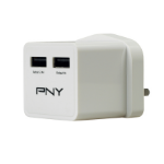 PNY P-AC-2UF-WUK01-RB Indoor White mobile device charger