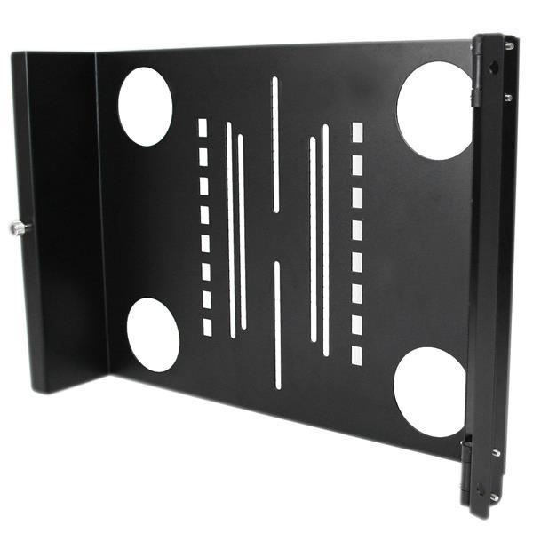StarTech.com Bracket Soporte Montura Universal Giratorio para Monitor VESA LCD en Rack Armario de 19in Pulgadas
