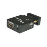 Microconnect MC-CONMVGAHM HDMI Mini-VGA Black video cable adapter