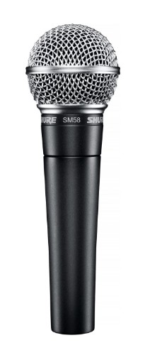 Shure SM58 Studio microphone Black