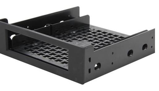 "BitFenix BFA-ADPT-525KK-RP drive bay panel 13.3 cm (5.25"") Bezel panel Black"