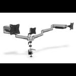 "Digitus DA-90363 monitor mount / stand 68.6 cm (27"") Clamp Black, Grey"