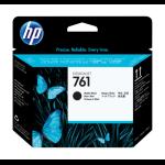 HP 761 Matte Black/Matte Black Designjet Printhead Inyección de tinta cabeza de impresora