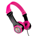 JLab Audio JBuddies Folding Headphones Head-band Black,Pink IEUHJBUDDIESRBLKPNK6