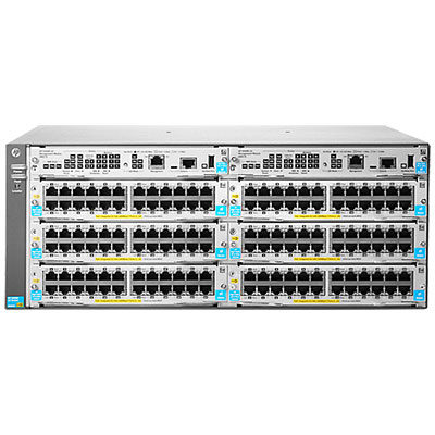 Hewlett Packard Enterprise 5406R zl2 network equipment chassis Grey