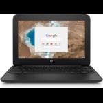 "HP Chromebook 11 G5 EE Zwart 29,5 cm (11.6"") 1366 x 768 Pixels 1,6 GHz Intel® Celeron® N3060"
