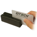 ID TECH MiniMagII RS-232 Black magnetic card reader