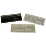 Keytronic KT800P2 PS/2 Black keyboard