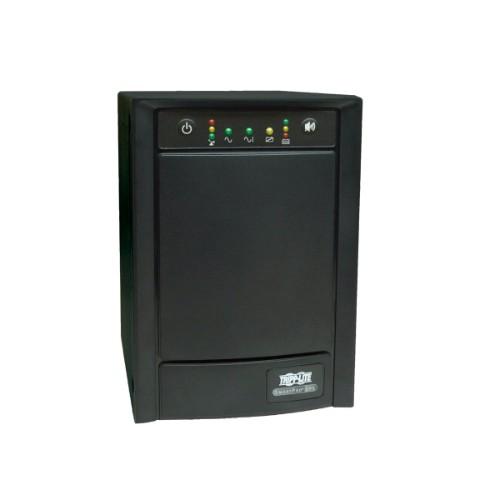 Tripp Lite UPS Smart 1500VA 900W 230V Tower AVR Line-Interactive Sine Wave, Network Card Options, USB, DB9, 8 Outlets