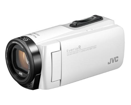 JVC GZ-R495W 2.5 MP CMOS Handheld camcorder White Full HD