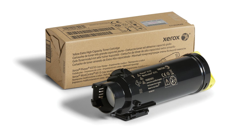Xerox Phaser 6510 / Workcentre 6515 Cartucho De Tóner Amarillo De Capacidad Extra (4300 Páginas)