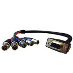 "Comprehensive VGA15J-5BJ-6HR video cable adapter 70.9"" (1.8 m) VGA (D-Sub) Black"