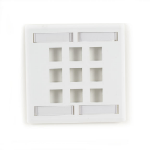 Black Box WPT488 wall plate/switch cover White