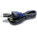 Trendnet 1.8m USB/VGA cable para video, teclado y ratón (kvm) 1,8 m Negro