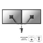 "Newstar FPMA-D950D 27"" Silver flat panel desk mount"