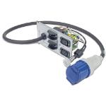 APC Symmetra LX rackmount backplate (2*C19 1*IEC 309)